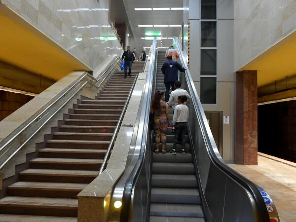 Incident la metrou, la stația Eroilor