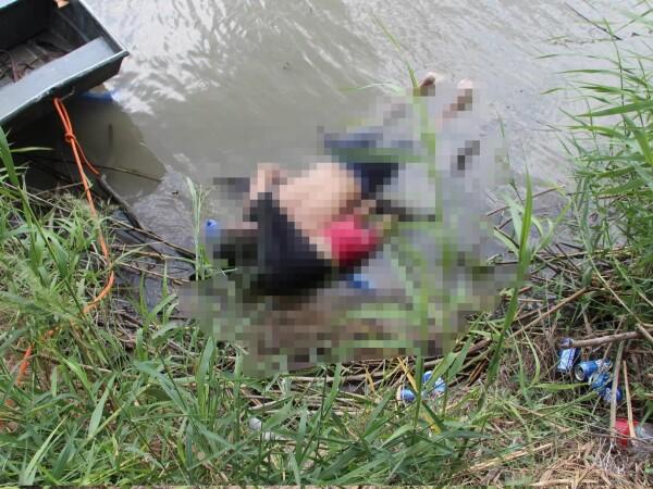 Migranți înecați la granița SUA-Mexic