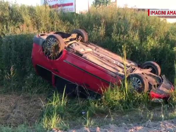 4 copii și o femeie însărcinată, răniți într-un accident la Baia Mare