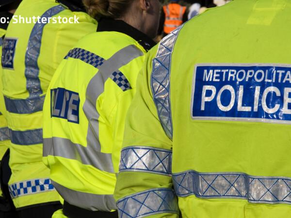 politisti englezi metropolitan police