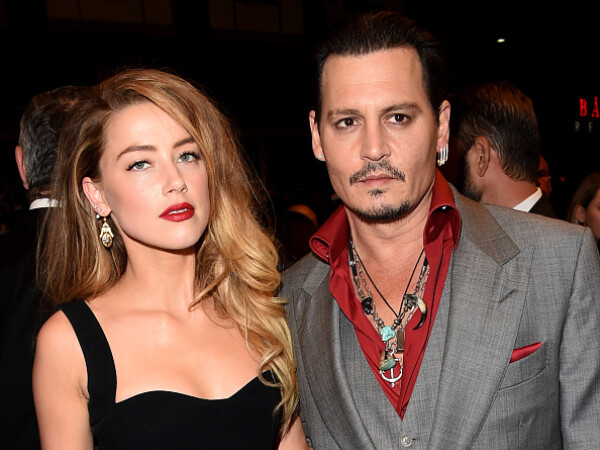 Johnny Depp, Amber Heard,