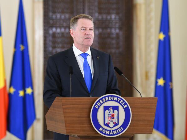 Klaus Iohannis, declaratii la Cotroceni