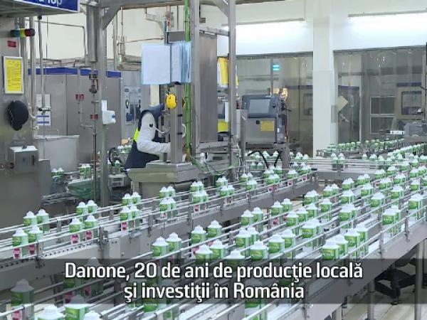 Fabrica Danone din Romania
