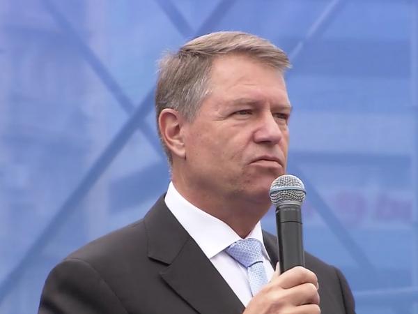 Klaus Iohannis, discurs in Piata Victoriei