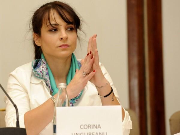 Fosta gimnasta Corina Ungureanu