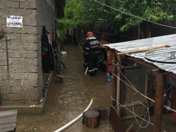 Inundaţii în Teleorman