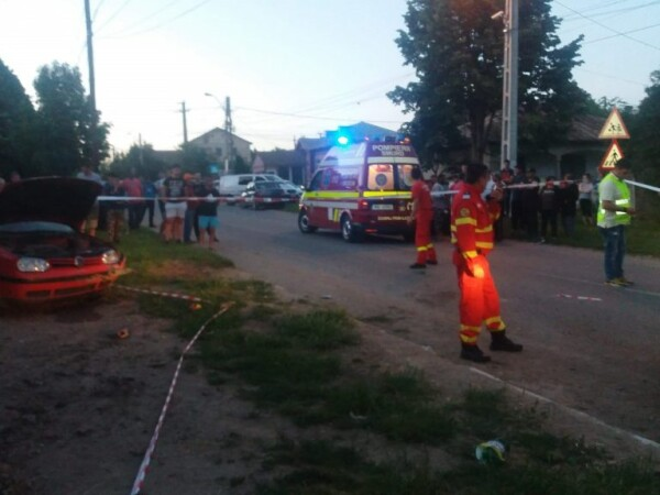 Accident grav in Piatra, Teleorman