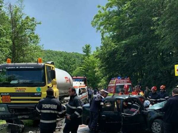 accident Dâmbovița