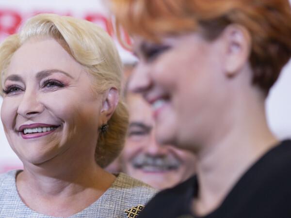 Viorica Dancila, Olguta Vasilescu