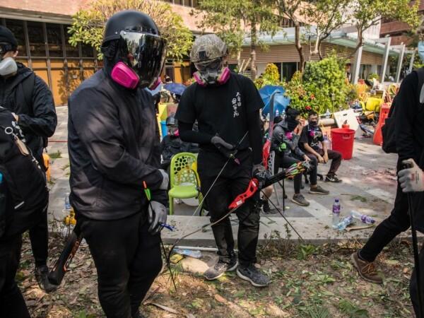Violente în Hong Kong - 8