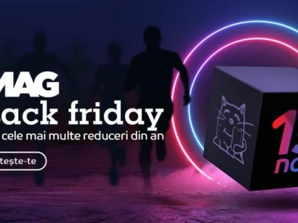 Numărătoarea inversă de Black Friday a început. 10 produse cu prețuri de nerefuzat, vândute de eMAG