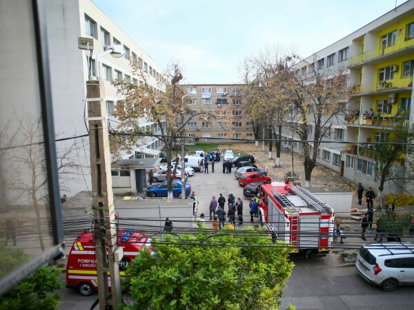 Trei decese într-un bloc din Timișoara - 1