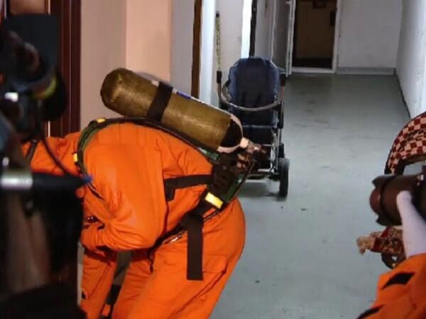Substanțele toxice, uitate într-un apartament din