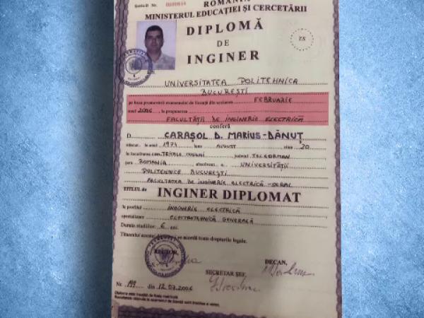 diploma falsa