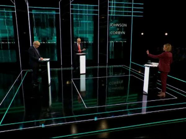 dezbatere johnson corbyn