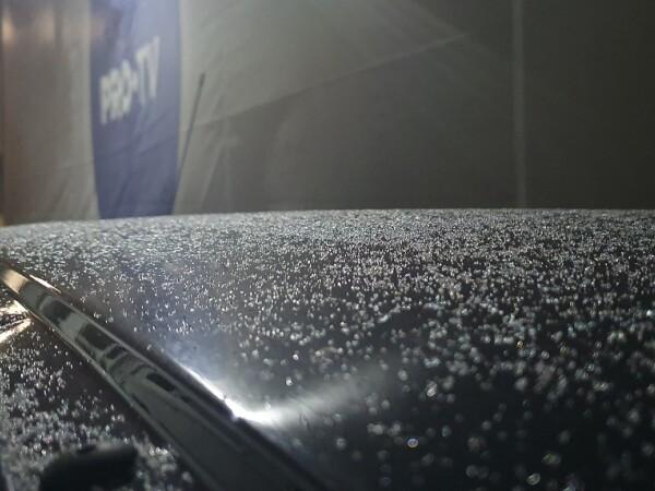 Prima ninsoare din această iarnă în București