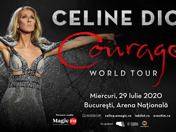 concert Celine Dion in Romania
