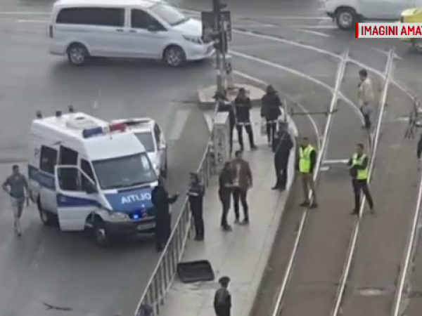 Alertă în Capitală după ce un bagaj suspect a fost lăsat în fața unui liceu