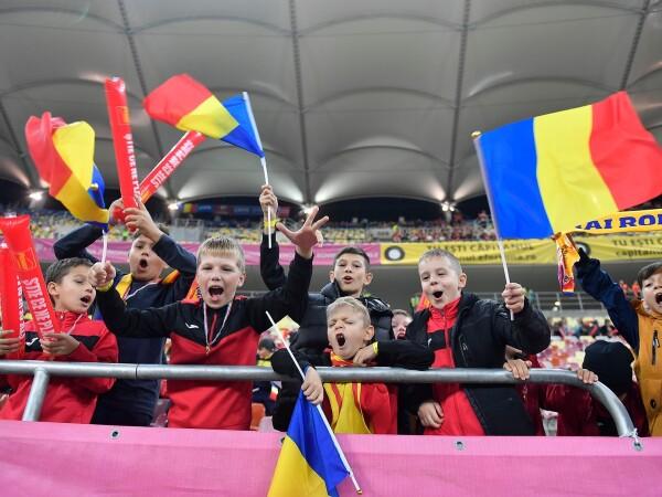30.000 de copii au asistat la meciul România - Norvegia - 3