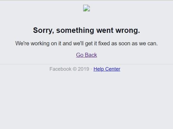 Facebook a picat în România
