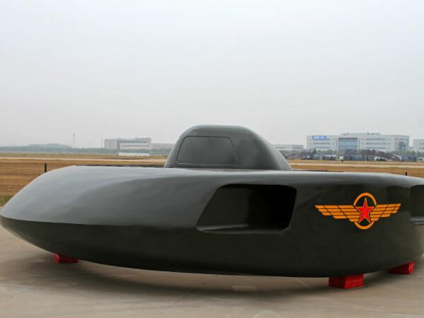 Elicopterul de atac al Chinei, care arată ca un OZN. Pare din filmele SF ale anilor 1950