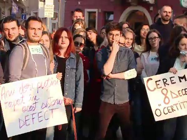 protest rezidentiat