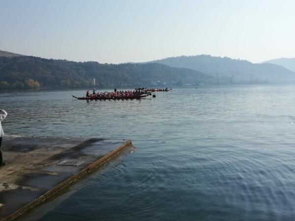Barca rasturnata