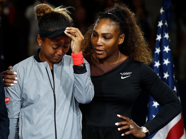 Naomi Osaka, Serena Williams