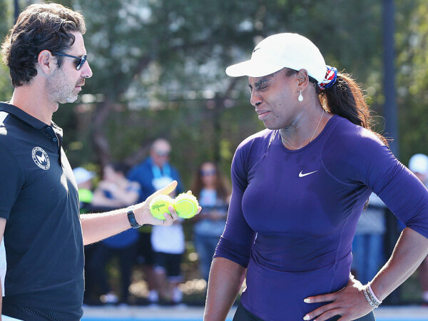 patrick mouratoglou si serena williams