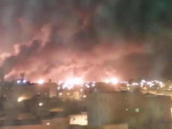 arabia saudita, instalatii petroliere, incendiu, atac, drone,