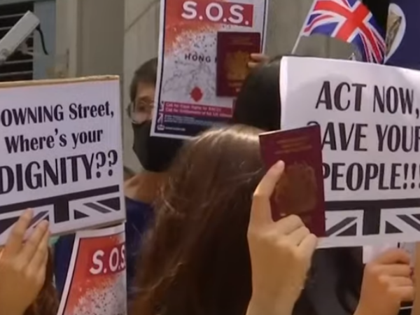 Protestatarii din Hong Kong au cerut ajutorul Marii Britanii