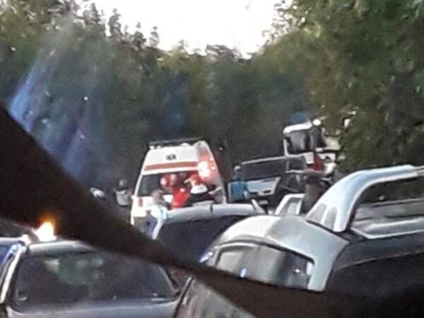 Accident în Bacău