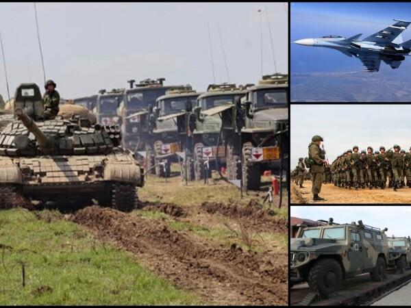 Exercitii militare de amploare în Rusia