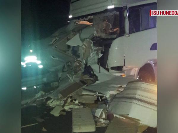 Accident pe autostrada Lugoj-Deva