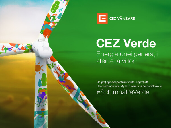 (P) Pentru generația verde există CEZ Verde: energie 100% regenerabilă