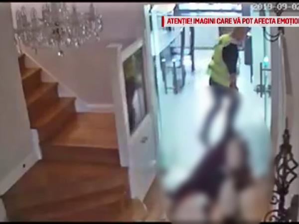 Imagini șocante cu un român care târăște corpurile unor femei înainte să le jefuiască