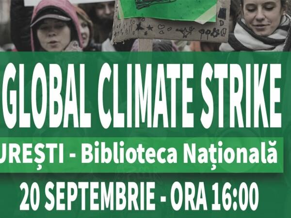 """Românii se alătură grevei globale împotriva schimbărilor climatice. """"Casa noastră arde"""""""