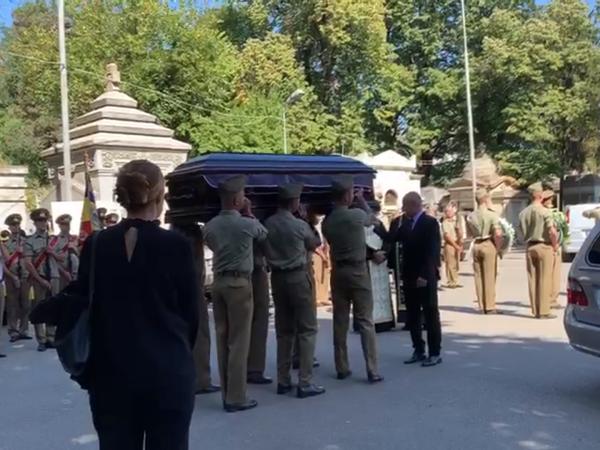 Înmormantare Ducu Darie