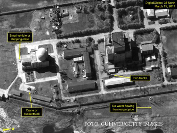 YONGBYON, facilitati nucleare nord-coreene
