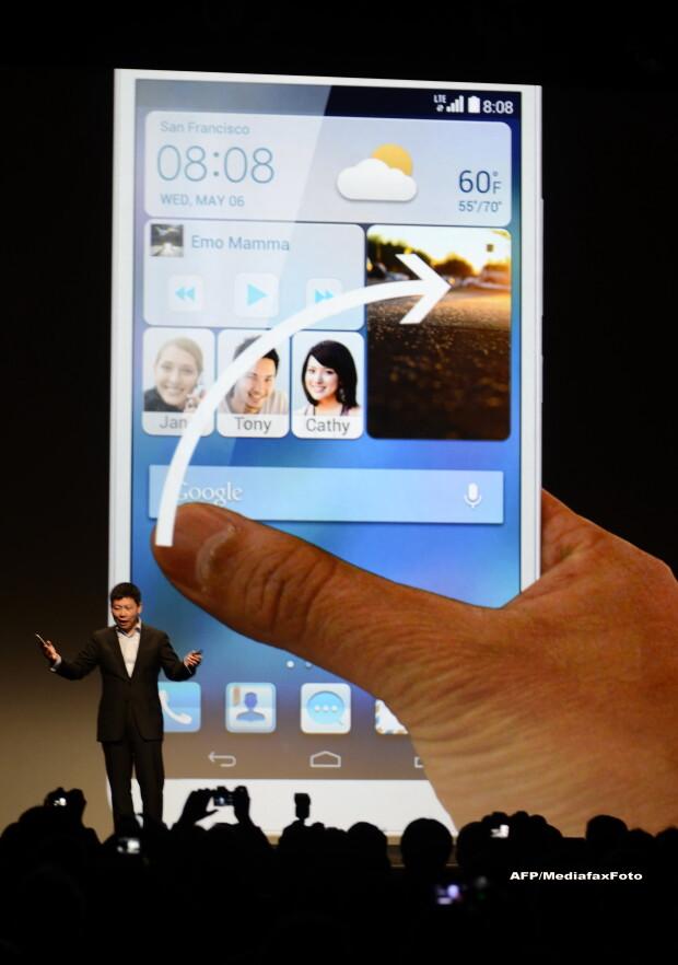 Huawei Ascend Mate 2 la CES 2014