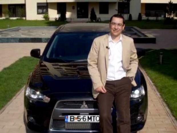 Victor Ponta, ironizat de Kamikaze