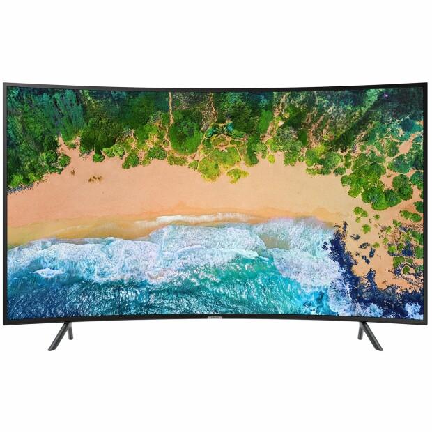 Crazy Sales la eMag. Televizor curbat 4K, utra HD, la doar 2.200 lei
