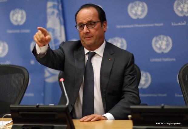 Francois Hollande - AGERPRES