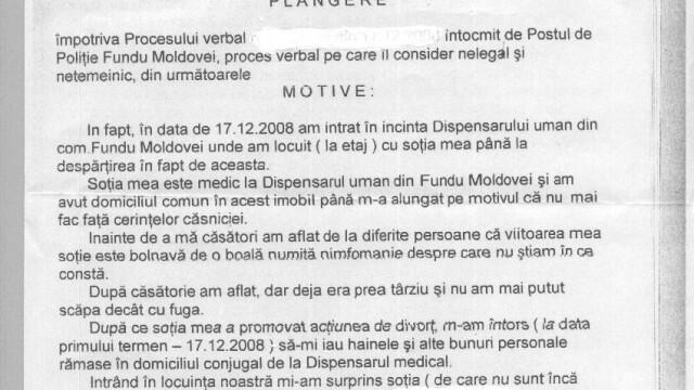 Nimfomana si durerea din Fundu Moldovei. VEZI plangerea lui Fane!!! - Imaginea 1