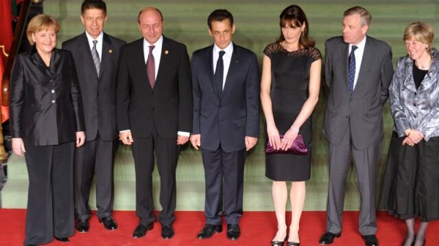 Traian Basescu la summitul NATO