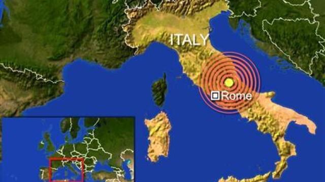Cutremur puternic langa Roma, in Italia! Peste 150 de morti! - Imaginea 2