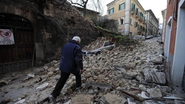 Cutremur puternic langa Roma, in Italia! Peste 150 de morti! - Imaginea 7