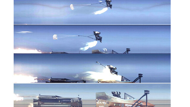 ejectare din avion
