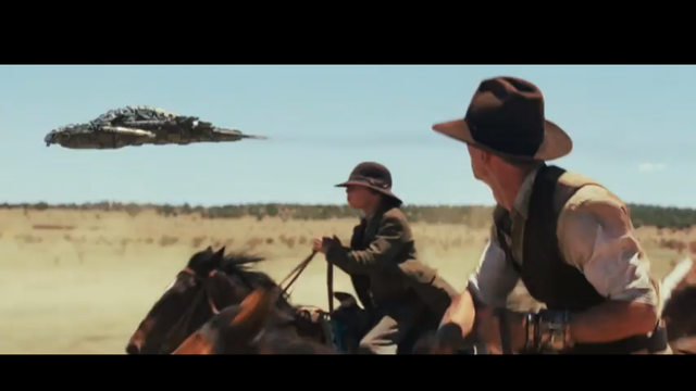 Cowboy-i si extraterestrii