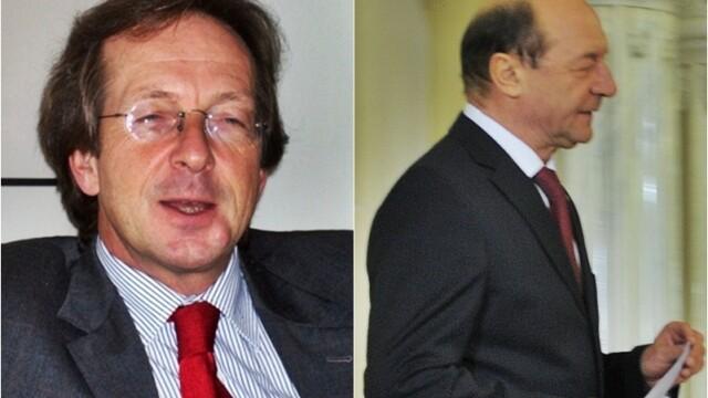 Matthijs van Bonzel si Traian Basescu